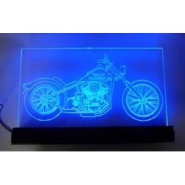 RGB Verlicht Harley Naambordje
