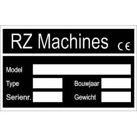 machineplaatje RZ2