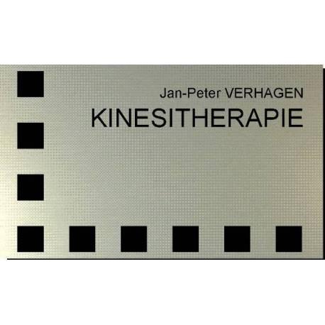 RVS look Praktijk Naambord kinesitherapie