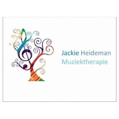 Logo naambord 20 X 15 cm muziektherapeute
