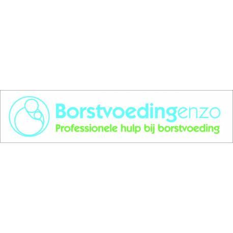 Naambord eigen ontwerp logo Borstvoedingenzo