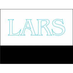 Led verlicht naambordje LARS
