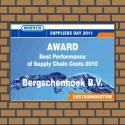 Bedrijfsnaambord met logo award