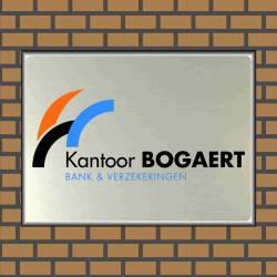 Bedrijfsnaambord eigen logo Bogaert