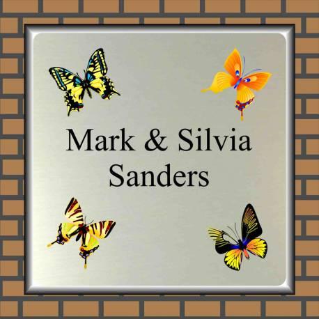 Naambordje vlinders 16