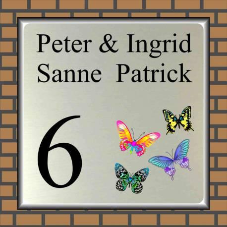 Naambordje vlinders 144