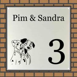 Naamplaat honden 31