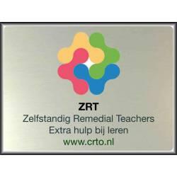 Naambord Eigen ontwerp Logo ZRT