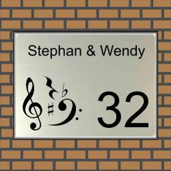 Naambordje muziek 5