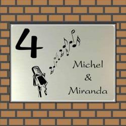 Naambordje muziek 26