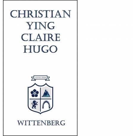 Bedrijfsnaambord met eigen logo