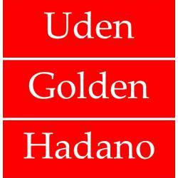 Kunststof naamplaat, tekstplaat Rood-Wit
