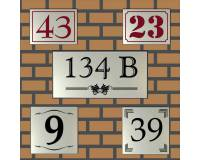 Huisnummerbordjes en Huisnummers
